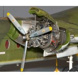 DHC-4 Caribou Engine Set - 1/72 update set