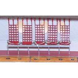U.S. Universal seats - 1/72 PE set