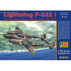 Lightning P-322 I - 1/72 kit
