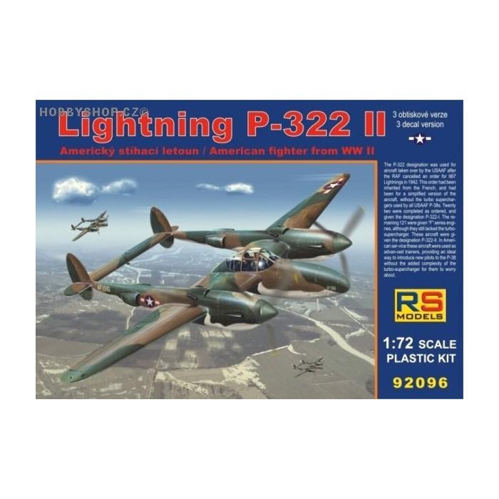 Lightning P-322 II - 1/72 kit
