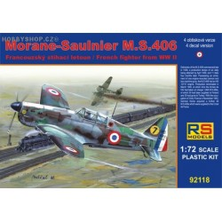 Morane-Saulnier M.S.406 France 1940 - 1/72 kit