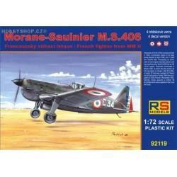 Morane-Saulnier M.S.406 Naval / D-3800 - 1/72 kit
