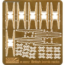 British bomb rack part 1 - 1/48 PE set
