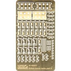British bomb rack part 2 - 1/48 PE set