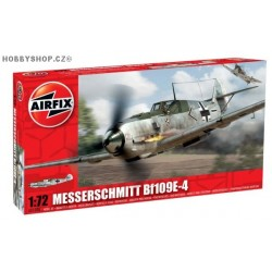 Messerschmitt Bf 109E-4 - 1/72 kit