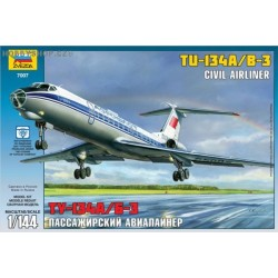 Tupolev Tu-134A/B-3 with CSA decals - 1/144 kit