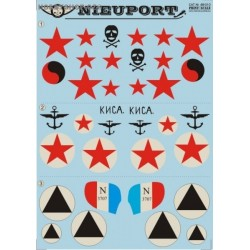 Nieuport Part 1 - 1/48 decal