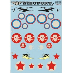 Nieuport Part 2 - 1/48 decal