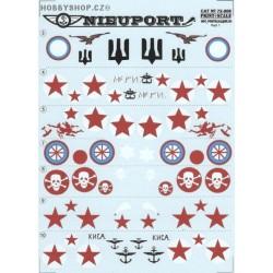 Nieuport 17-25 bis Part 1 - 1/72 decal