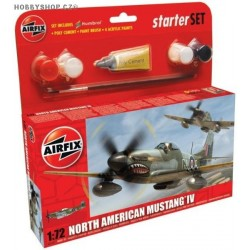 Mustang IV Starter Set - 1/72 kit