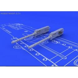 Browning M-2 guns (2pcs) - 1/48 update set