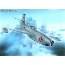 Yakovlev Yak-23 Flora Red&White Stars - 1/72 kit