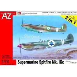 Spitfire Mk.IXc IDF/AF & REAF Duel Combo - 1/72 kit