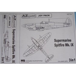 Spitfire Mk.IX Joypack 3in1 - 1/72 kit