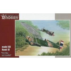 Curtiss model 68 Hawk III Over Siam & Argentina - 1/72 kit