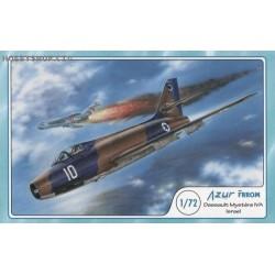 Dassault Mystere IVA Israel - 1/72 kit