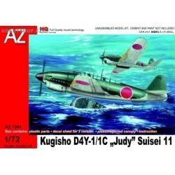Kugisho D4Y-1 / 1C Judy Suisei 11 - 1/72 kit