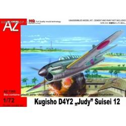Kugisho D4Y2 Judy Suisei 12 - 1/72 kit