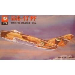 MiG-17PF Syria - 1/72 kit