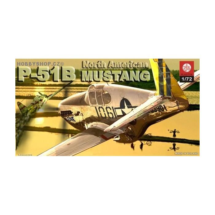 P-51B Mustang - 1/72 kit