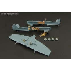 Spitfire Mk.IX - 1/144 PE set