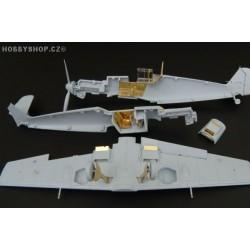 Bf 109E - 1/72 PE set