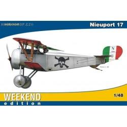 Nieuport 17 Weekend - 1/48 kit