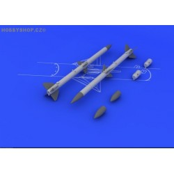 AIM-120A/B AMRAAM (2pcs) - 1/48 update set