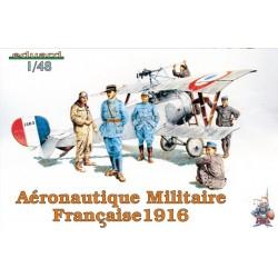 Aeronautique Militaire Francaise 1916 - 1/48 figures