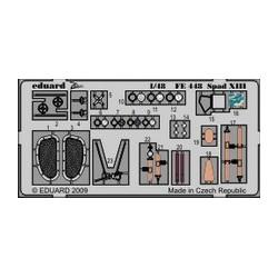 Spad XIII Weekend - Painted - 1/48 PE set