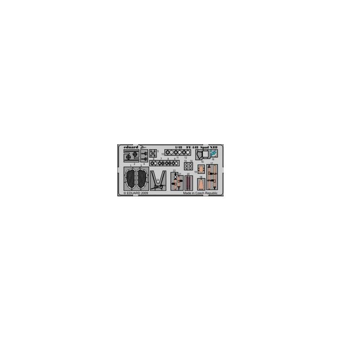 Spad XIII Weekend – Painted - 1/48 PE set
