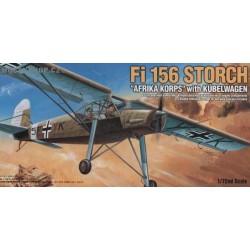 Fi 156 Storch Afrika Korps w/Kubelwagen - 1/72 kit