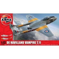 D.H Vampire T.11 - 1/72 kit