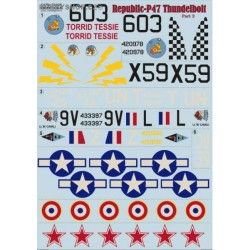 P-47 Thunderbolt Part 2 - 1/72 decal