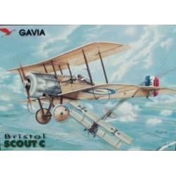 Bristol Scout - 1/48 kit