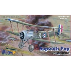 Sopwith Pup Dual Combo - 1/144 kit