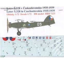 Letov S-328 Czechoslovakia 1935-39 - 1/72 decal