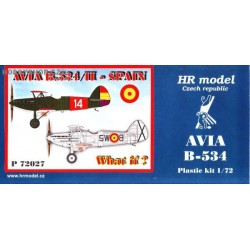 Avia B-534/II Spain What If? - 1/72 kit