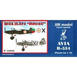 Avia B-534/IV Dogan Bulgaria - 1/72 kit