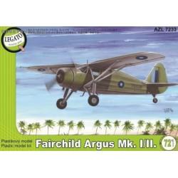 Fairchild Argus Mk.I / Mk.II - 1/72 kit