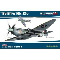 Spitfire Mk.IXc  DUAL COMBO - 1/144 kit