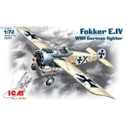 Fokker E.IV - 1/72 kit