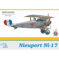 Nieuport Ni-17 Weekend - 1/72 kit