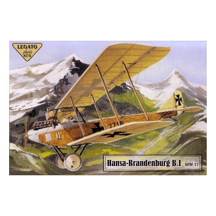 Hansa- Brandenburg B.I serie 77 - 1/72 kit