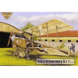 Hansa- Brandenburg B.I serie 76/176/276 - 1/72 kit