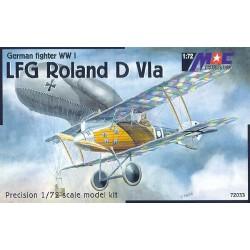 LFG Roland D.VIa - 1/72 kit