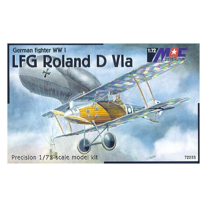 LFG Roland DVIa - 1/72 kit
