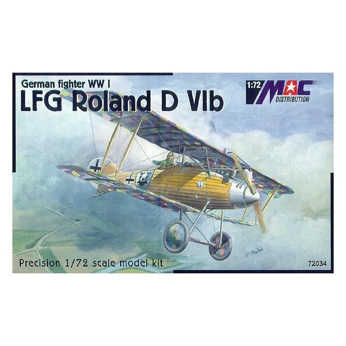 LFG Roland DVIb - 1/72 kit