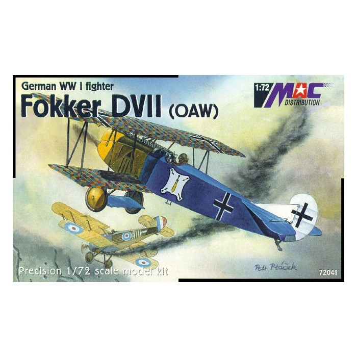 Fokker DVII (OAW) - 1/72 kit