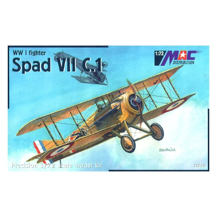 Spad VII C.1 - 1/72 kit